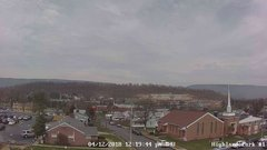 view from Highland Park Hose Co. #1 on 2018-04-12