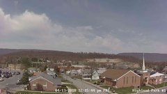 view from Highland Park Hose Co. #1 on 2018-04-13