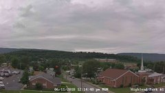 view from Highland Park Hose Co. #1 on 2018-06-11