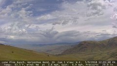 view from Horseshoe Bend, Idaho CAM1 on 2018-05-09
