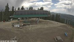 view from Angel Fire Resort - Chile Express on 2018-07-02
