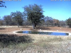 view from Sophienhof Lodge Waterhole on 2018-06-21