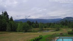 view from Olympic View Cabins Hurricane Ridge Cam on 2018-07-09