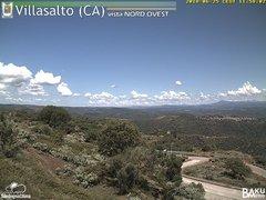 view from Villasalto on 2018-06-25
