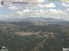 view from Monte Lusei Seui on 2018-07-10