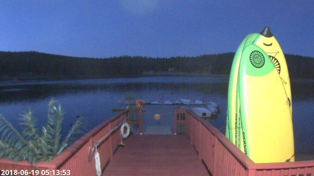time-lapse frame, Angel Fire Resort - Monte Verde Lake webcam