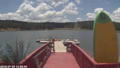 view from Angel Fire Resort - Monte Verde Lake on 2018-07-09