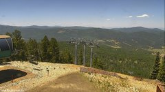 view from Angel Fire West View on 2018-06-24