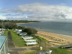 view from Cowes Yacht Club - West on 2018-06-25