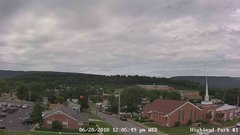 view from Highland Park Hose Co. #1 on 2018-06-20