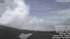 view from 1 Sotra island, W-Norway on 2018-09-15