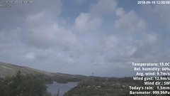 view from 1 Sotra island, W-Norway on 2018-09-19