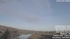 view from 1 Sotra island, W-Norway on 2019-01-09