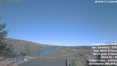 view from 1 Sotra island, W-Norway on 2019-03-13