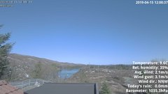 view from 1 Sotra island, W-Norway on 2019-04-15