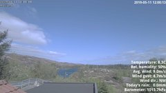 view from 1 Sotra island, W-Norway on 2019-05-11