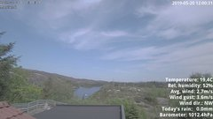 view from 1 Sotra island, W-Norway on 2019-05-20