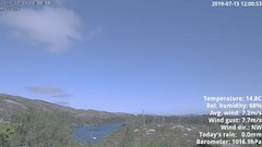 view from 1 Sotra island, W-Norway on 2019-07-15