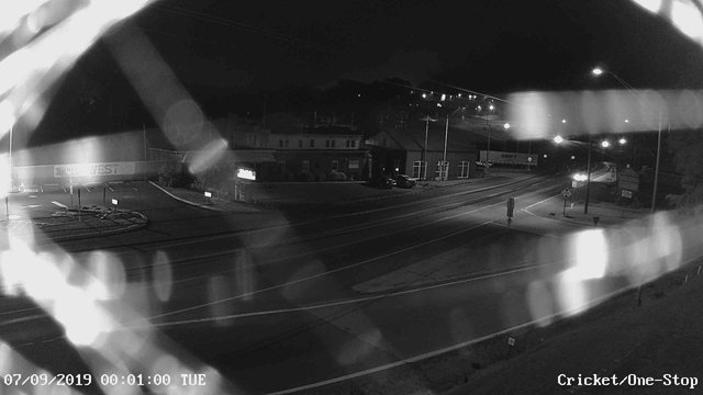time-lapse frame, Electric Avenue - Lewistown webcam