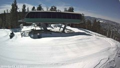 view from Angel Fire Resort - Chile Express on 2019-02-13