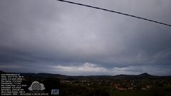 view from MeteoReocín on 2018-11-26