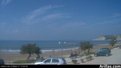 view from Arillas Corfu Live Webcam on 2018-10-21