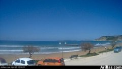 view from Arillas Corfu Live Webcam on 2019-04-29