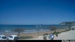 view from Arillas Corfu Live Webcam on 2019-05-11