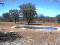 view from Sophienhof Lodge Waterhole on 2019-04-10