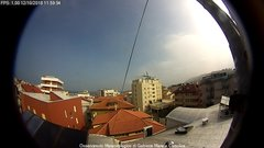 view from Oss. Meteorologico di Gabicce Mare e Cattolica on 2018-10-12