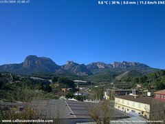 view from Callosa d'en Sarrià - Aitana on 2019-01-11
