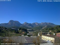 view from Callosa d'en Sarrià - Aitana on 2019-01-12