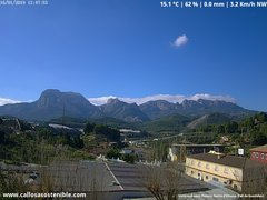 view from Callosa d'en Sarrià - Aitana on 2019-01-16