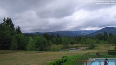view from Olympic View Cabins Hurricane Ridge Cam on 2018-07-10