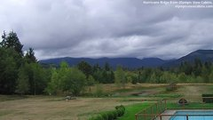 view from Olympic View Cabins Hurricane Ridge Cam on 2018-09-14