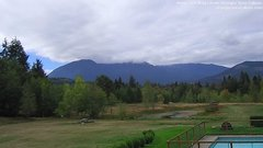 view from Olympic View Cabins Hurricane Ridge Cam on 2018-09-24