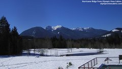 view from Olympic View Cabins Hurricane Ridge Cam on 2019-03-04