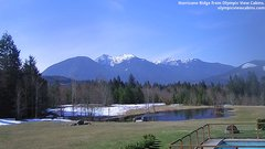 view from Olympic View Cabins Hurricane Ridge Cam on 2019-03-21