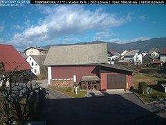 view from VREME ŽIRI-cam-1-SV on 2019-01-14