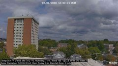 view from University Place Apartments - North Weather on 2018-10-01