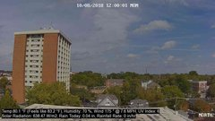 view from University Place Apartments - North Weather on 2018-10-08