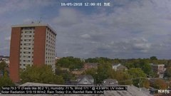 view from University Place Apartments - North Weather on 2018-10-09