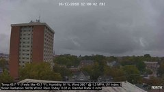 view from University Place Apartments - North Weather on 2018-10-12