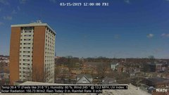 view from University Place Apartments - North Weather on 2019-03-15