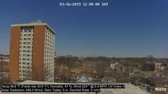 view from University Place Apartments - North Weather on 2019-03-16