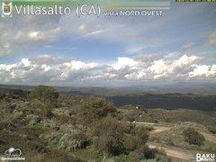 view from Villasalto on 2018-11-07