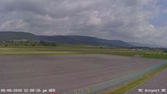 view from Mifflin County Airport (east) on 2018-08-08