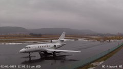 view from Mifflin County Airport (east) on 2019-02-06