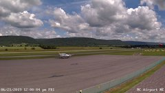 view from Mifflin County Airport (east) on 2019-06-21