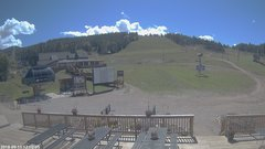 view from Angel Fire Resort - Base on 2018-09-11
